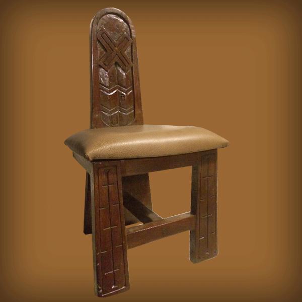 Ethiopian Chair Axum Back Design